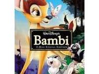 Bambi dvd-2 disk set, still in box, unopened. Please