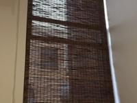 These were custom wood blinds that I had made for my