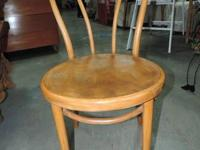 "Bamboo Chair with Round Seat - 632. 18.5""w x 23""d - 1"
