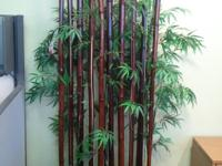 7 1/2 feet tall Bamboo Tree Divider. Previous Rented,