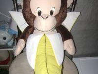We have a new stuffed animal Monkey King with Banana