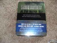 Band of Brothers blu ray set. Prefect conditon, will