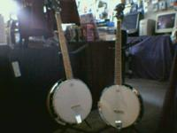 This is a BRAND NEW 4-String Tenor Banjo for just