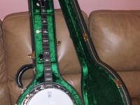 Deering Sierra Banjo. Bought last year. Wanted to learn