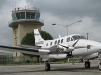 King Air C90 Details: Upgraded Engines Low Time!!!