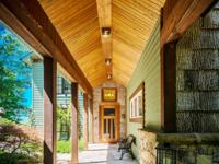This exquisite mountain home located in the