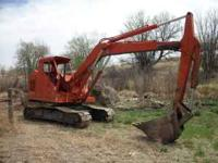 Excavator,Bantam model 450. Detroit 4-53 runs