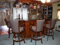 "92"" 2005 Chelsea Bar, Right Return With Lighted Canopy"