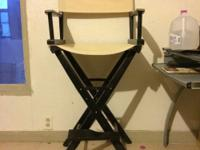 Hello friends, I'm selling my two directors chairs for