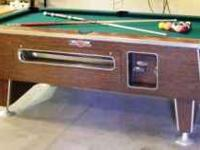 "VALLEY POOL TABLES ARE - ""THE BEST BUILT POOL TABLE IN"