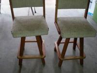 We have two matching bar stools we no longer need since