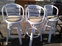 We are selling a couple different bar stools starting