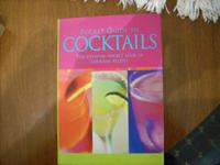 I am selling 2 books on ways to make mixed drinks.