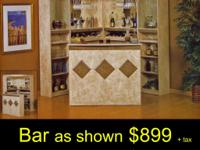 BAR UNIT 6 PCS COMPLETE AVAILABLE IN 2 COLORS