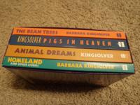 Barbara Kingsolver, The Complete Fiction-4 book box