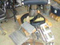 This is a 50's/60's model Belmont barber chair. I have
