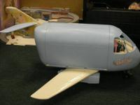 This is a classic Barbie plane with folding winds and