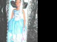 Black Barbie Ballerina Doll. 2007. On the back of the