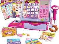 Barbie talking Cash Register scanner ( enter your name