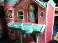 Over 40 Barbies, Barbie house, barbie jeep, tons of