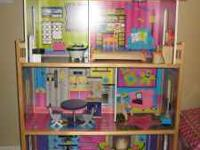 Barbie doll house no longer being played with, needs