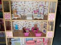 Large Barbie House For Sale Three story Barbie House