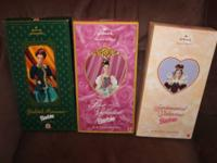 Special Hallmark Barbie Dolls - New in box!  $25 for