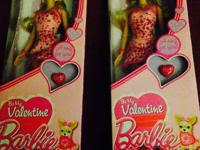 I have 2-2014 Valentines day barbies in perfect
