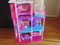 Barbie Dream House with elevator, furniture, and