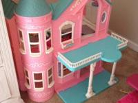 Barbie Foldable Dream House  CLEAN, FUN, Super-Easy