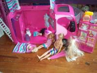Girls dream lot - includes the Barbie townhouse