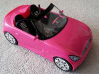 Barbie Glam Pink Convertible Car Lovingly used and