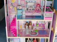 Barbie House Play Set with Elevator Three story Barbie