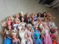 Am asking 70 for all this dolls, acc and ken clothes