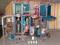 Barbie Mall Play Set Two story Barbie Mall Play Set
