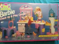 BARBIE PET DOCTOR CHECK UP & & PLAY. $35 for this rare,