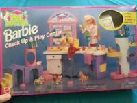 BARBIE PET DOCTOR CHECK UP & & PLAY. Please send your