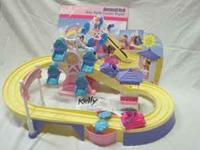 Kelly Amusement Park Kiddie Coaster Playset - $5