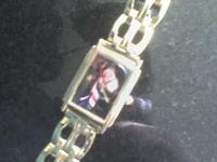 "Authentic 'Statue of Liberty Barbie"" watch. 1995. Made"
