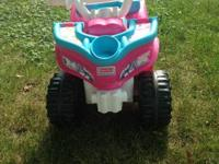 Barbie 4 Wheeler Toddler size. Like new !! Only been