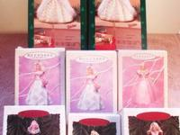 We have loads of Barbie Christmas Ornaments, Cards and
