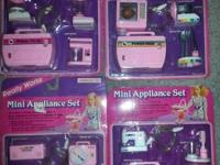 I have a great deal of Barbie things for sale.  Mini