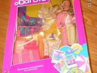 1995 Olynpic Gymnast barbie 1995 Indian barbie 1995