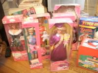 Two Avon collectables. The very first Barbie made by