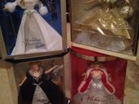holiday and millennium barbies still in the box