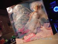 Do not email. call  2 Barbies with wings that flap with