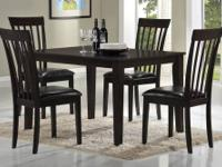 Barclay 5pc Dinette * Made of solids with veneers. *