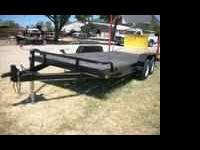 Barely Used 18ft Heavy Duty Custom Car Hauler -- Black,