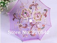 Flower Silk Lace Cloth Toy Parasol Umbrella!!! Material