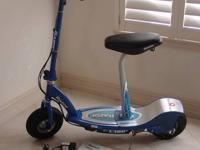 Like New E300 electric-max weight 220 lbs-up to 15 mph